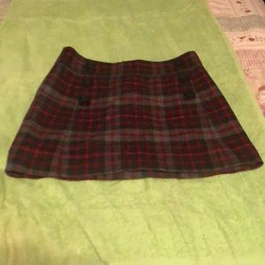 Gap Plaid skirt